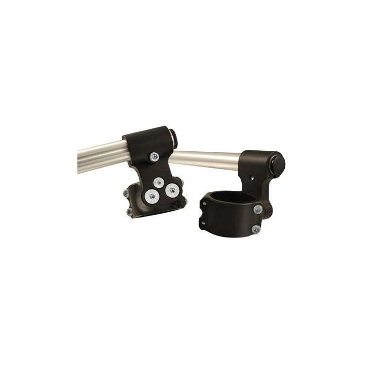 "WOODCRAFT 50mm CLIP-ONS CLIPON WITH 1/"" RISE RISER BAR"